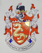 Christopher Liu coat of arms